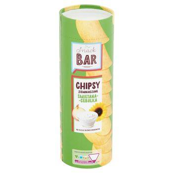 Snack Bar Chipsy ziemniaczane śmietana-cebulka 100 g