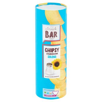 Snack Bar Chipsy ziemniaczane solone 100 g