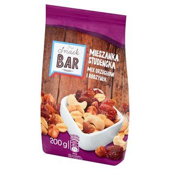 Snack Bar Mieszanka studencka mix orzechów i rodzynek 200 g