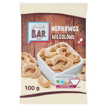 Snack Bar Nerkowce niesolone 100 g