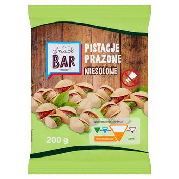 Snack Bar Pistacje prażone niesolone 200 g