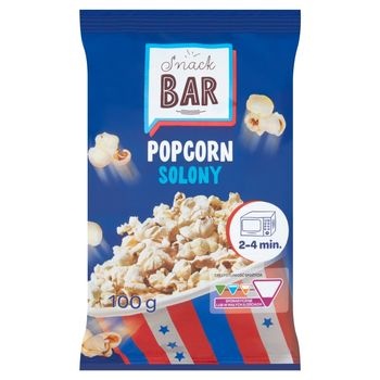 Snack Bar Popcorn solony 100 g
