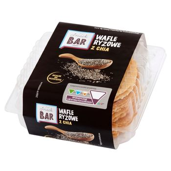Snack Bar Wafle ryżowe z chia 80 g