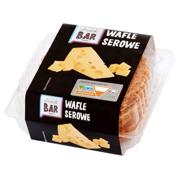 Snack Bar Wafle serowe 90 g