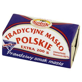 Sobik Tradycyjne masło polskie ekstra 200 g