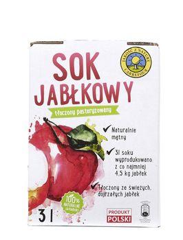 """Sok jabłkowy """"Jakość z Natury Carrefour"""" 3l"""