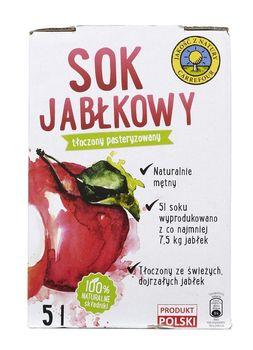 """Sok jabłkowy  """"Jakość z Natury Carrefour"""" 5l"""