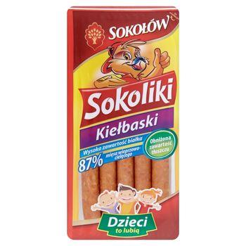 Sokołów Kiełbaski Sokoliki 140 g