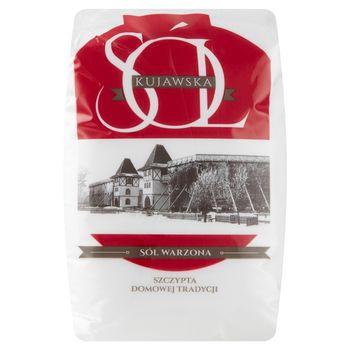 Sól kujawska warzona spożywcza jodowana 1 kg
