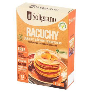 Soligrano Racuchy jaglane z jabłkiem i cynamonem 81 g