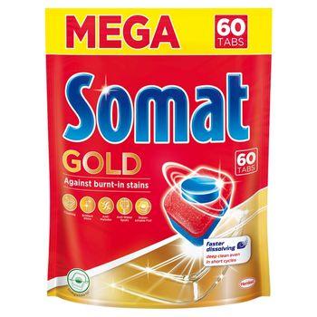 Somat Gold Tabletki do mycia naczyń w zmywarkach 60 sztuk