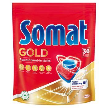 Somat Gold Tabletki do mycia naczyń w zmywarkach 691,2 g (36 x 19,2 g)
