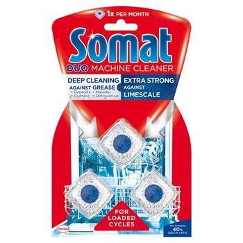 Somat Duo Środek do czyszczenia zmywarek 3 x 19 g