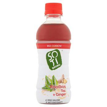 Soti Natural Zaparzone liście czerwonokrzewu i imbir 340 ml