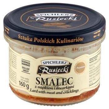 Spichlerz Rusiecki Smalec z mięskiem i skwarkami 160 g