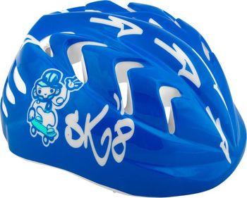 Spokey kask na rolki i deskę Chopper niebieski r. 44-48
