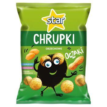Star Oczaki Chrupki kukurydziane orzechowe 125 g