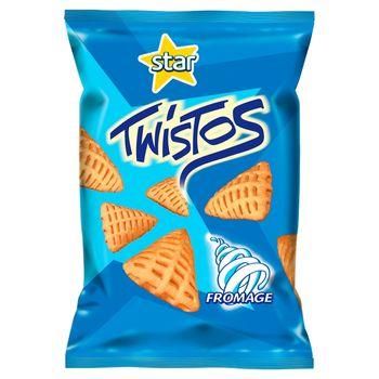 Star Twistos Przekąski ziemniaczane o smaku śmietankowym 70 g