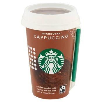 Starbucks Cappuccino Mleczny napój kawowy 220 ml