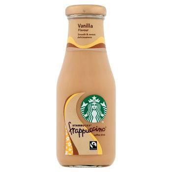 Starbucks Frappuccino Mleczny napój kawowy o smaku waniliowym 250 ml