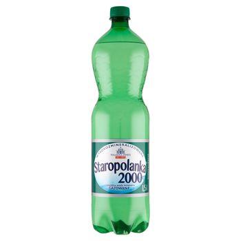 Staropolanka 2000 Naturalna woda mineralna wysokozmineralizowana gazowana 1,5 l