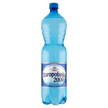 Staropolanka 2000 Naturalna woda mineralna wysokozmineralizowana lekko gazowana 1,5 l