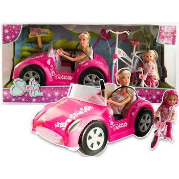 Steffi i Evi Kabriolet i rower