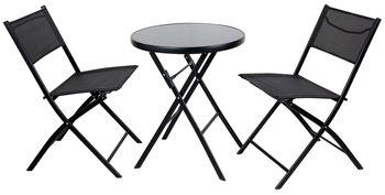 Zestaw Wypoczynkowy Eurohit Kaja Stół i dwa krzesła