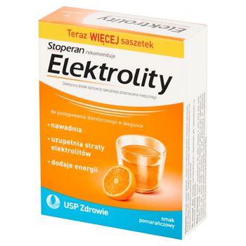 Stoperan Elektrolity smak pomaranczowy 29,4 g (7 x 4,2 g)