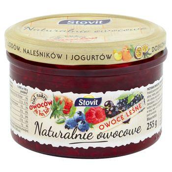 Stovit Naturalnie owocowe Owoce leśne 255 g