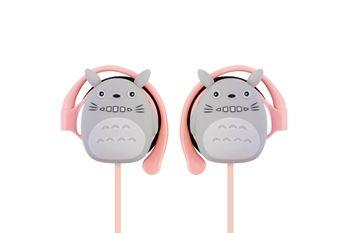 Stylowe i bezpieczne Słuchawki dla dzieci Kinbini KN - 3030 Różowe