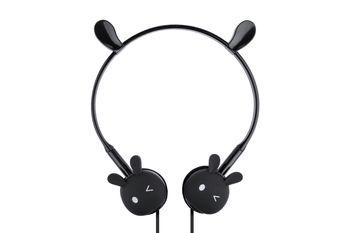 Stylowe i bezpieczne Słuchawki dla dzieci Kinbni KN-3017 Czarne