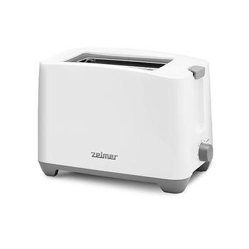 Stylowy toster ZELMER ZTS7386 biały tacka na okruchy