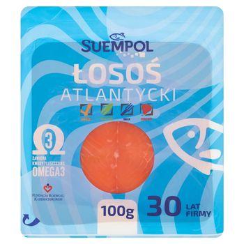 Suempol Łosoś atlantycki wędzony plastrowany 100 g