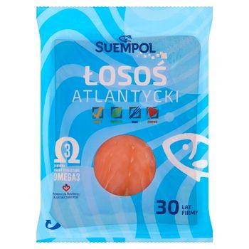 Suempol Łosoś atlantycki wędzony plastrowany 200 g