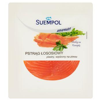 Suempol Pstrąg łososiowy wędzony na zimno plastry 100 g