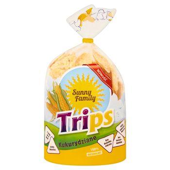 Sunny Family Trips Wafle kukurydziane 110 g