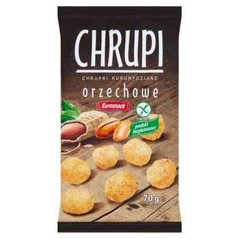 Eurosnack Chrupi Chrupki kukurydziane orzechowe 70 g