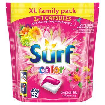 Surf Color Tropical Lily & Ylang Ylang Kapsułki do prania 1012 g (42 prania)