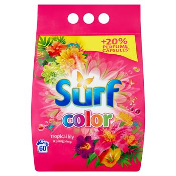 Surf Color Tropical Lily & Ylang Ylang Proszek do prania 3,9 kg (60 prań)