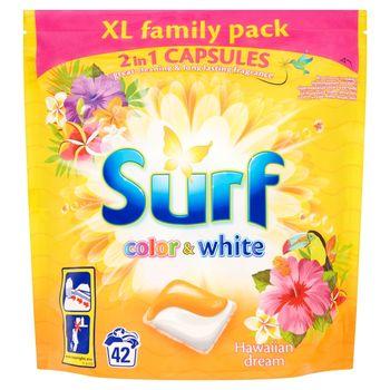 Surf Color & White Hawaiian Dream Kapsułki do prania 1,012 kg (42 sztuki)