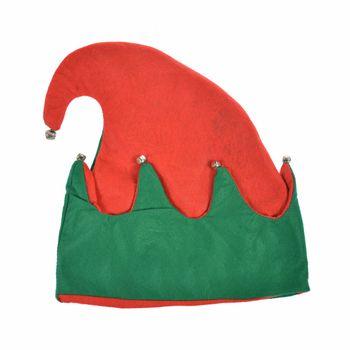 Świąteczna Czapka Elfa z Dzwoneczkami Arpex