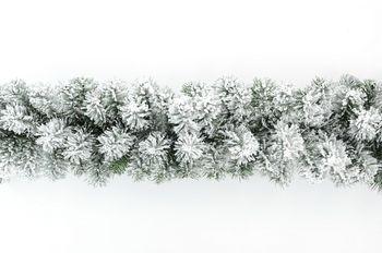 Świąteczna Girlanda Śnieżona 260 cm
