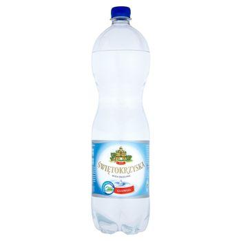 Świętokrzyska Woda źródlana gazowana 1,5 l