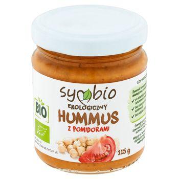 Symbio Hummus z pomidorami ekologiczny 115 g