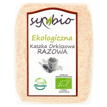 Symbio Kaszka orkiszowa razowa ekologiczna 400 g