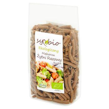 Symbio Makaron żytni razowy rurka ekologiczny 400 g