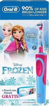 Szczoteczka elektryczna ORAL-B Vitality Frozen + piórnik 4210201181385