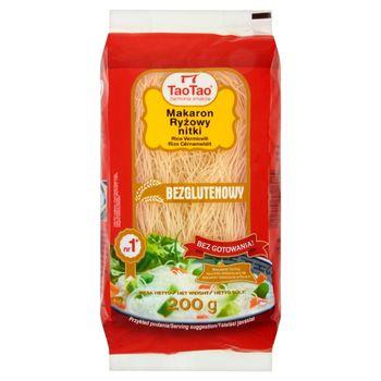 Tao Tao Makaron ryżowy nitki 200 g