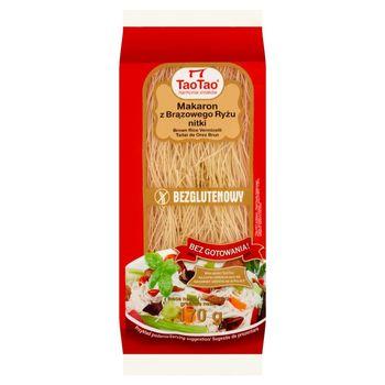 Tao Tao Makaron z brązowego ryżu nitki 170 g